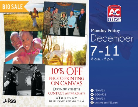 Arts & Crafts Special: 10% off Photo Printing on Canvas