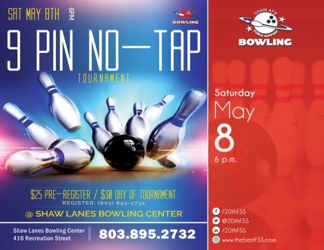 9 Pin No-Tap Tournament