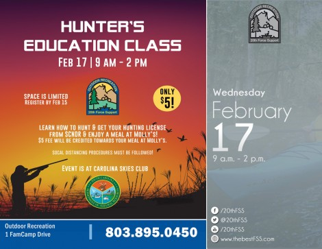 South Carolina Hunter's Education Class