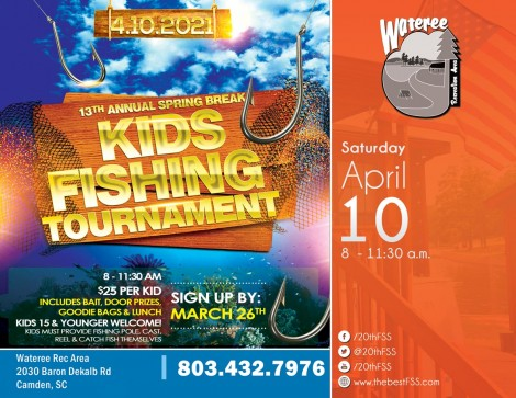 13th Annual Kids' Fishing Tournament