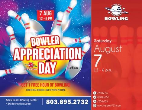 Bowler Appreciation Day
