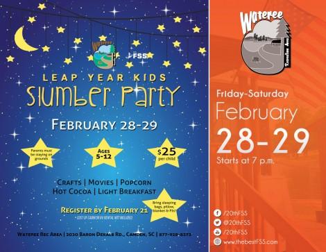 Leap Year Kids Slumber Party