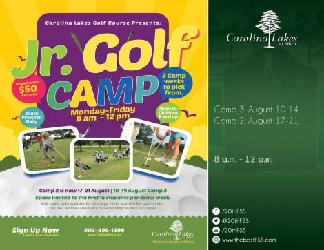 Jr. Golf Camp Session 3