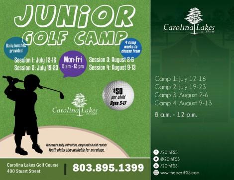 2021 Summer Junior Golf Camp - Session 1