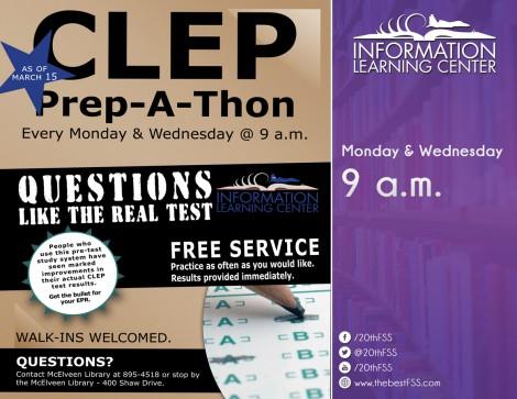 CLEP Prep-A-Thon