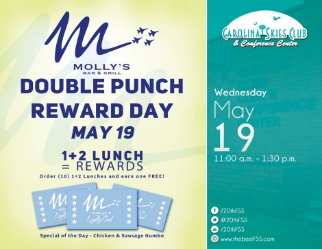 Molly's May Double Punch Day