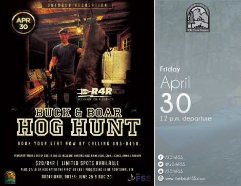 Buck & Boar Hog Hunt Trip