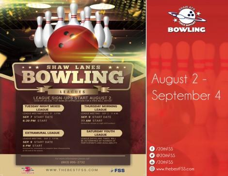 Bowling League Sign Ups