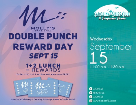 Molly's Double Punch Day