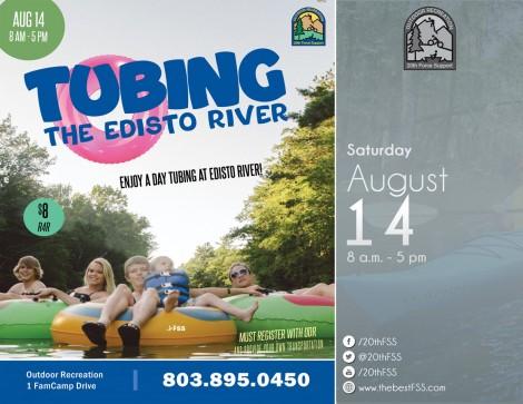 Tubing on the Edisto River