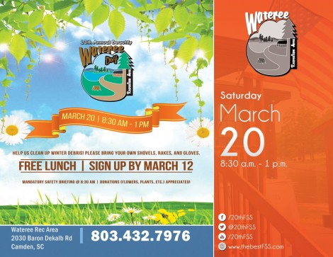 13th Annual Beautify Wateree Day