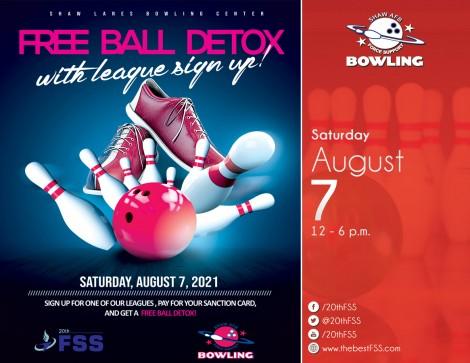 FREE Bowling Ball Detox!