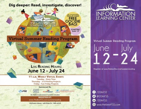 Virtual Summer Reading Program 2020