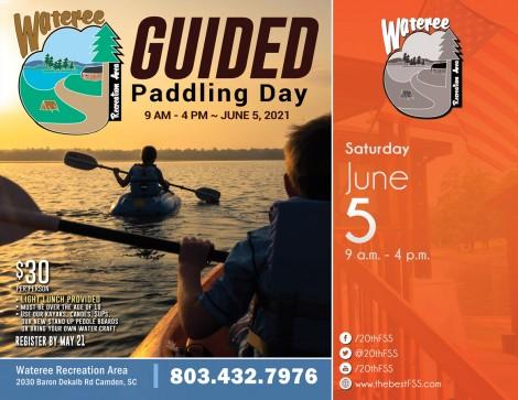 Guided Paddling Day at Wateree