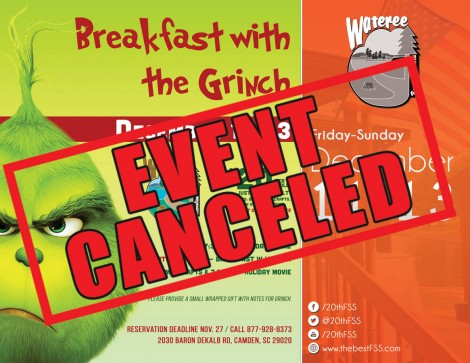 CANCELED | Breakfast with The Grinch