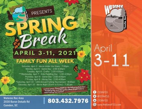 Spring Break at Wateree - Game Day