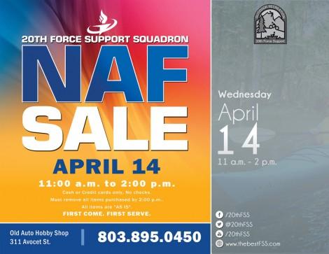 NAF Store Sale