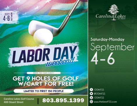 FREE Golf This Labor Day Weekend!