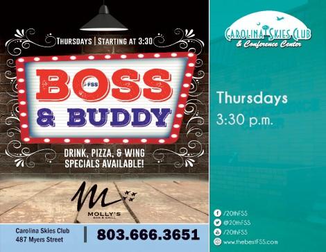 Molly's Boss & Buddy Night!