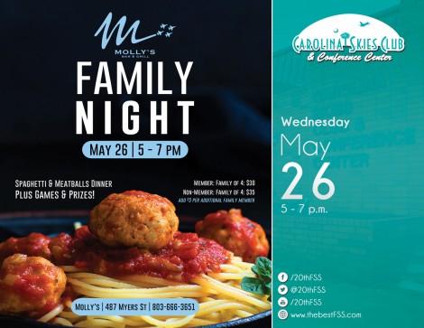 May Family Night at Molly's